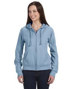 Ladies' Fleece Full-Zip Raglan Hoodie