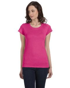 Ladies' Sheer Jersey Short-Sleeve T-Shirt