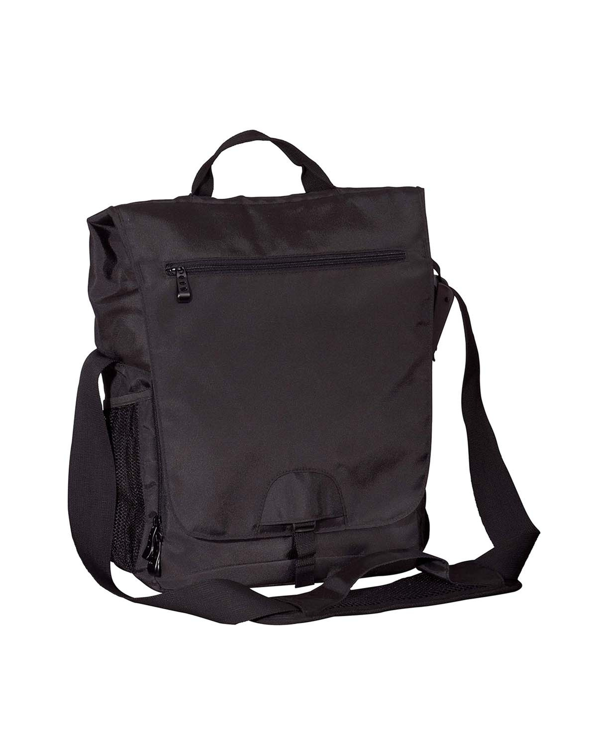 Vertical Messenger Tech Bag