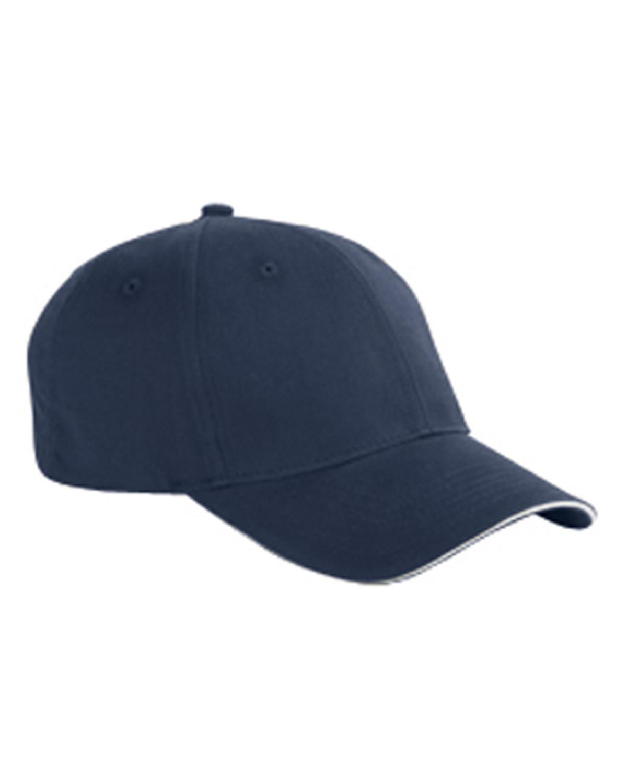 Cotton 6-Panel Twill Sandwich Baseball Cap