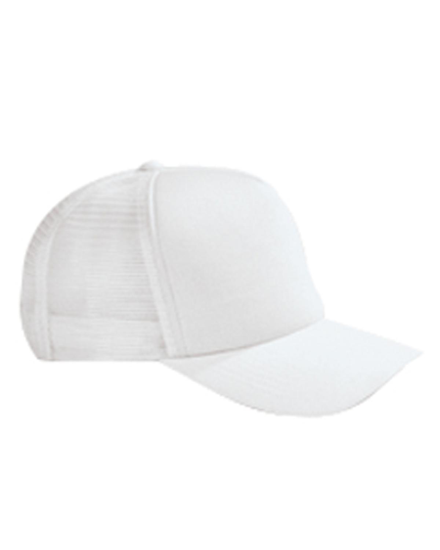 Cotton 5-Panel Twill Trucker Cap