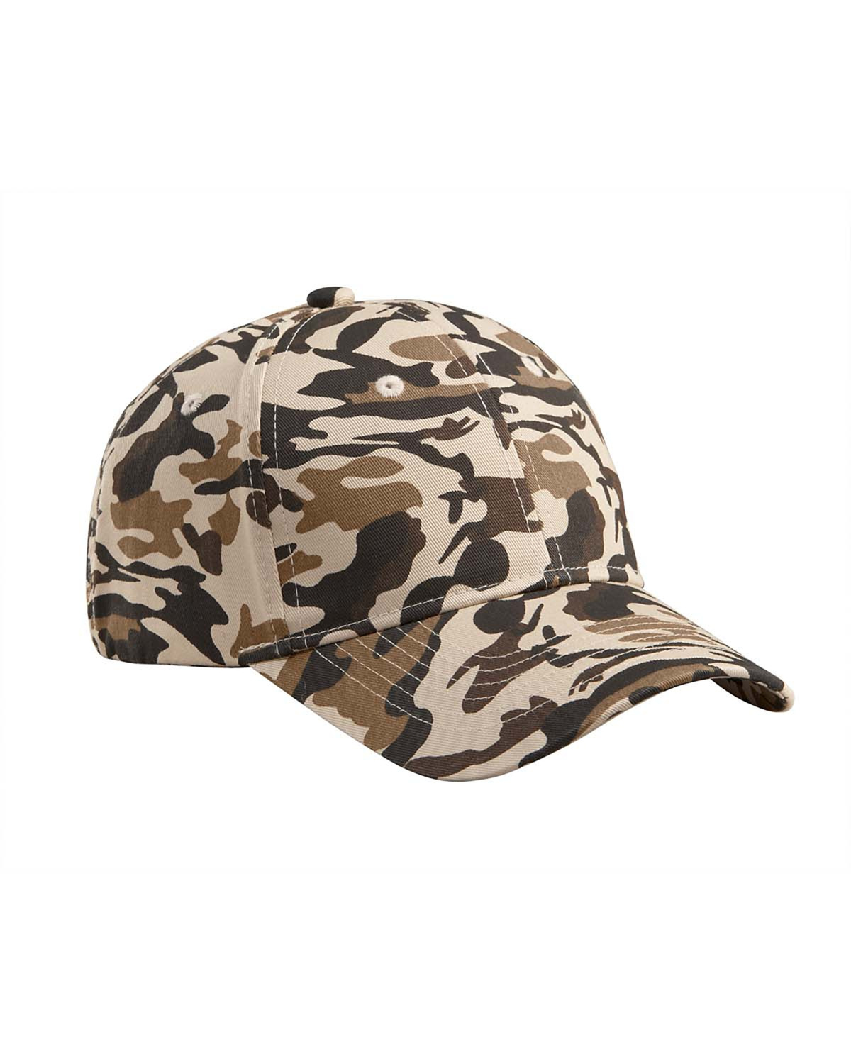 Cotton Structured Camo Hat