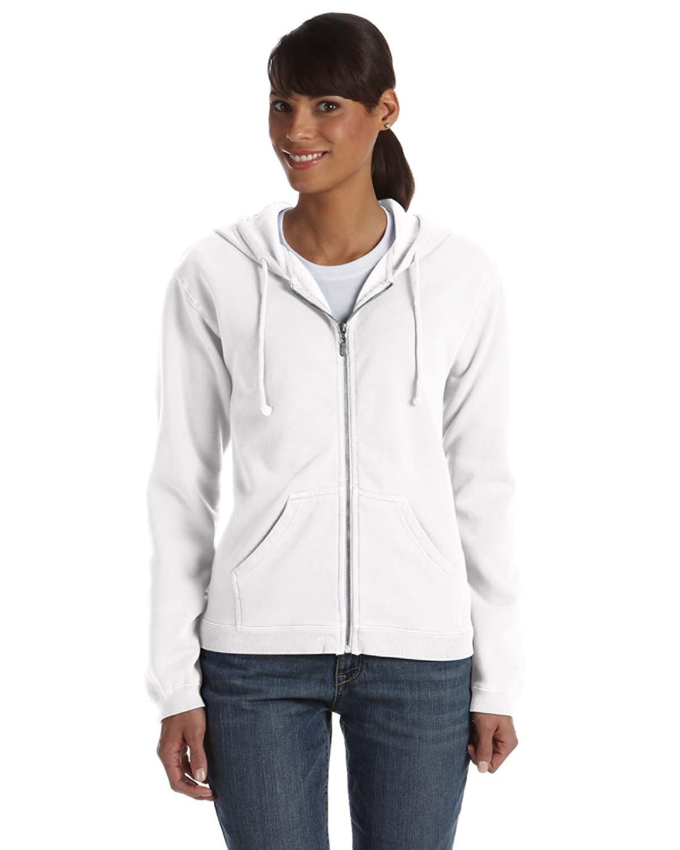 Ladies' Full-Zip Hooded Sweatshirt