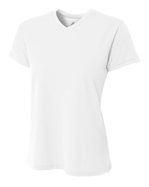 Ladies' Marathon Performance V-Neck T-Shirt