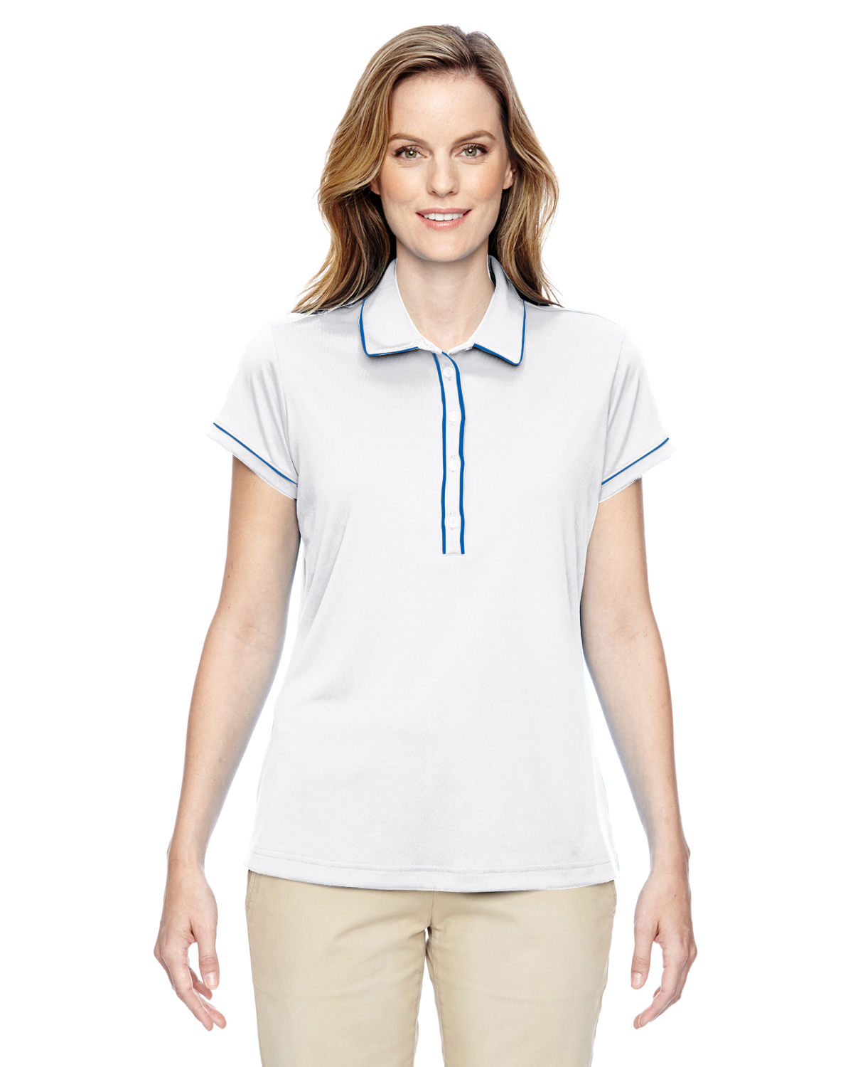 Ladies' Piped Polo