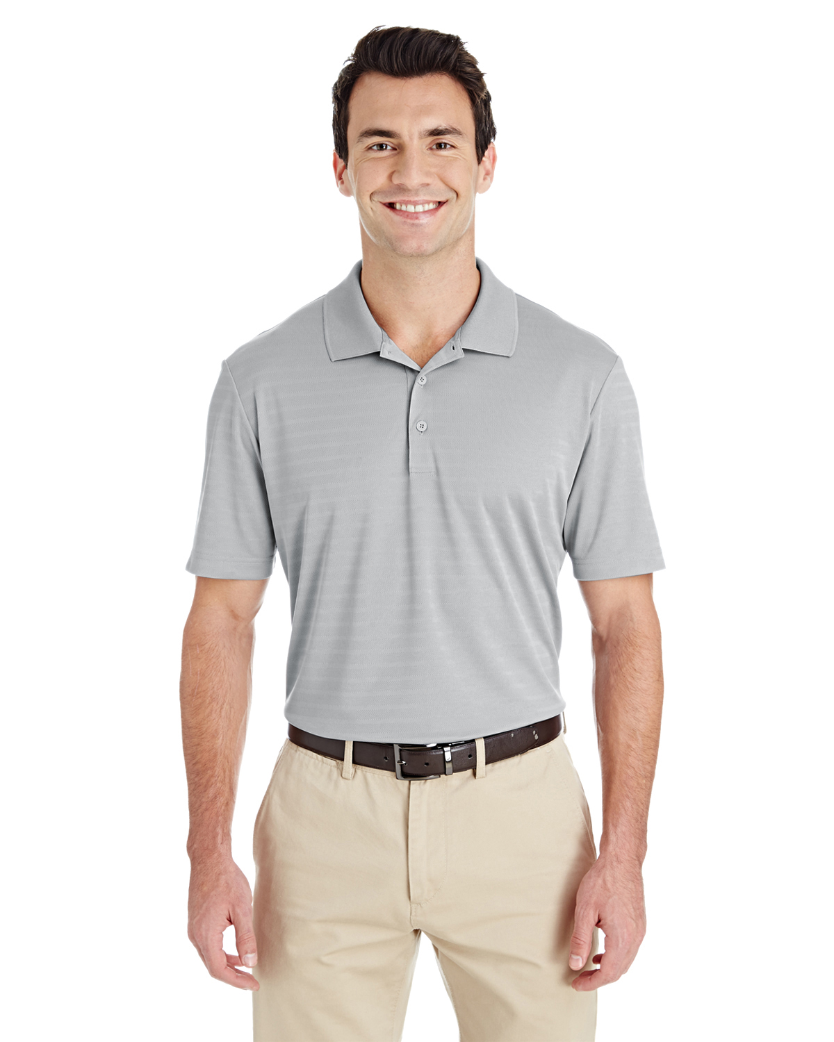 Men's Micro Stripe Polo