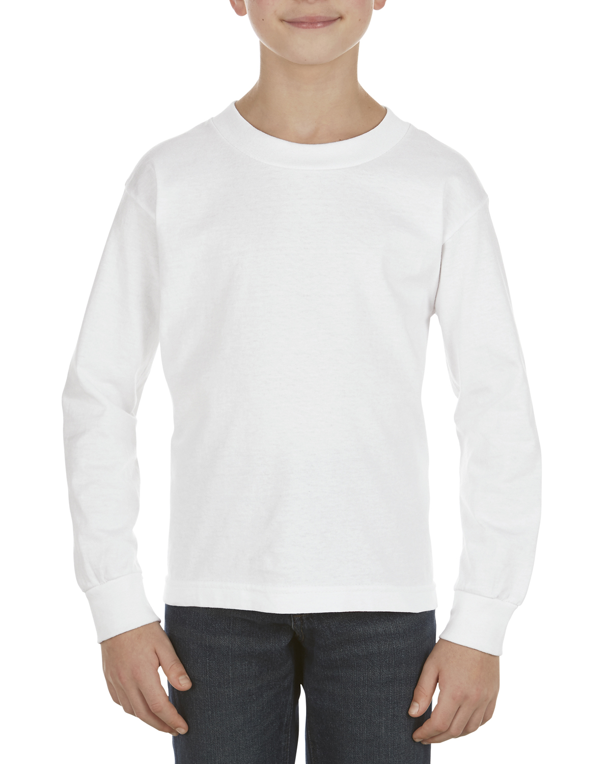 Youth 6.0 oz., 100% Cotton Long-Sleeve T-Shirt