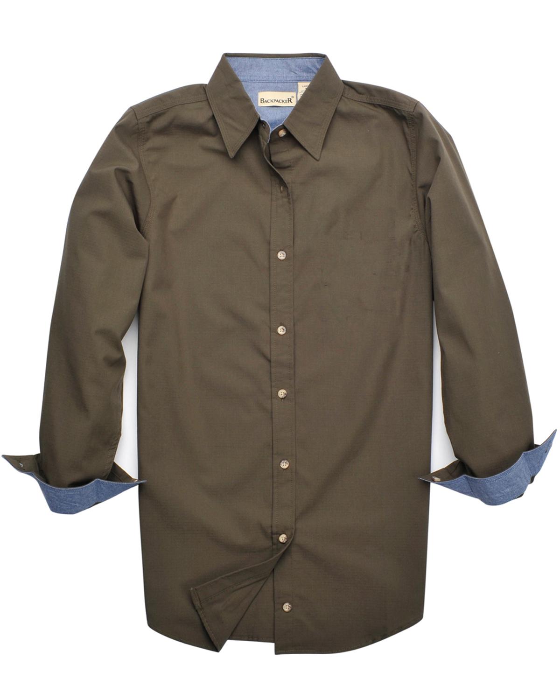 Ladies' Wayfarer Rip Stop Long-Sleeve Shirt