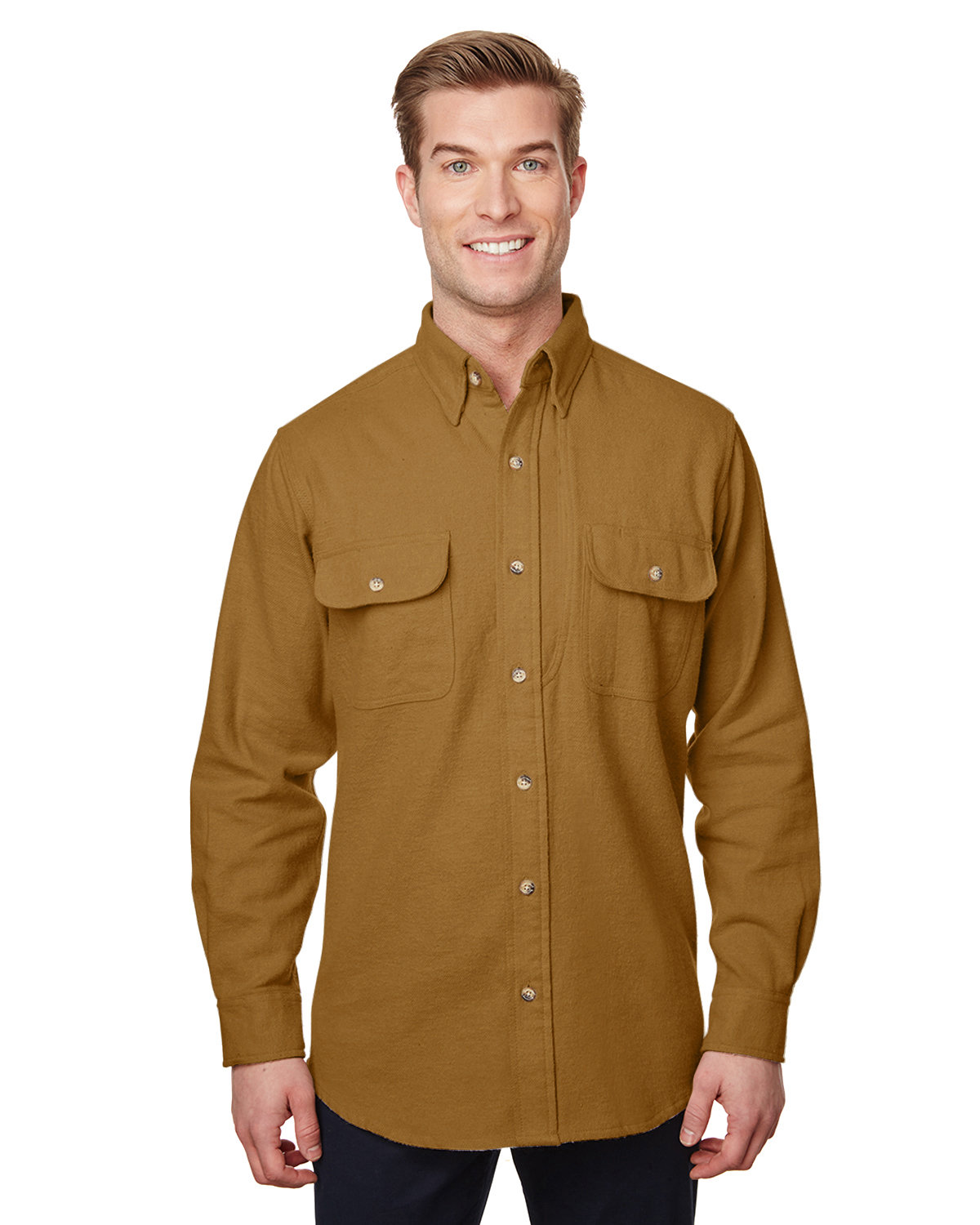 Men's Solid Chamois Shirt