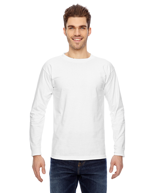 Bayside BA6100 Cotton Long Sleeve T-Shirt
