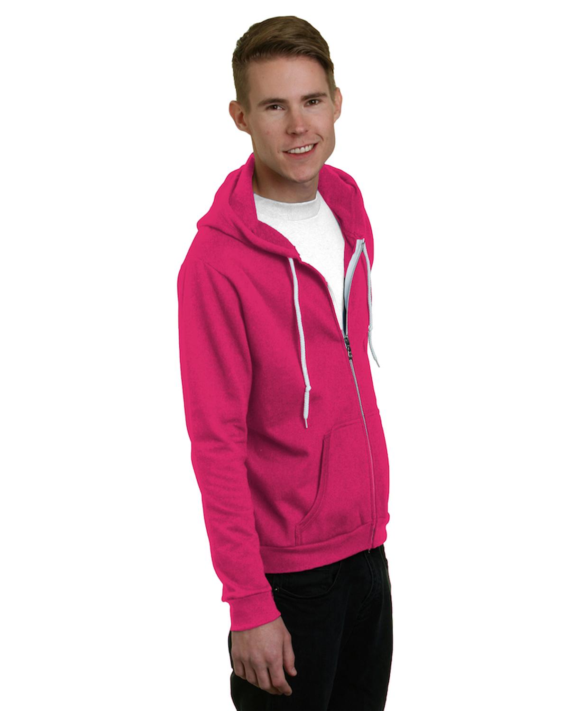 Unisex 7 oz., 50/50 Full-Zip Fashion Hooded Sweatshirt