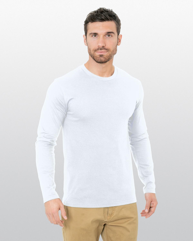 Unisex Fine Jersey Long-Sleeve Crew T-Shirt