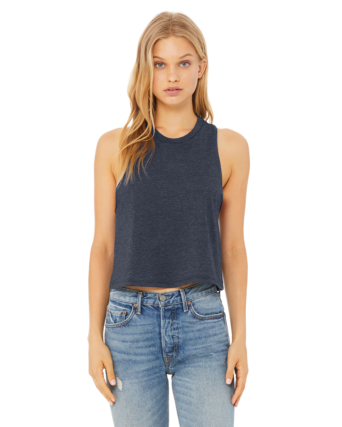 Ladies' Racerback Cropped Tank