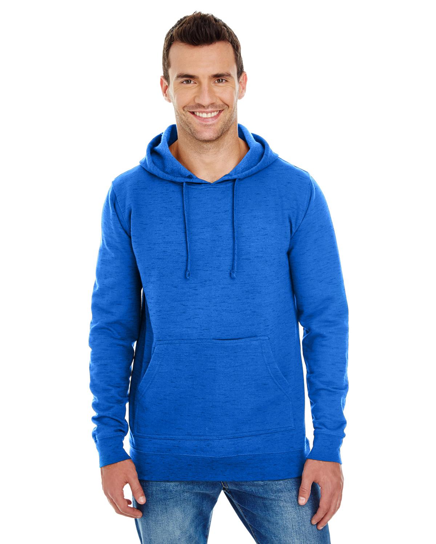 Men's Injected Slub Yarn-Dyed Fleece Hoodie