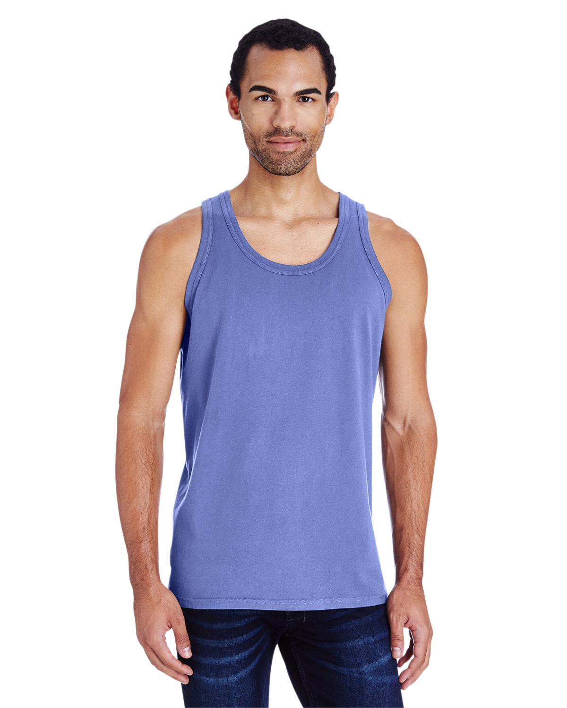 Unisex 5.5 oz., 100% Ringspun Cotton Garment-Dyed Tank