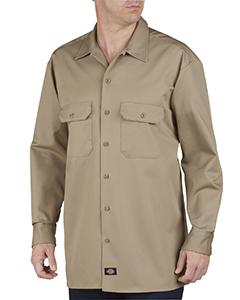 Unisex Tall Heavyweight Cotton Long-Sleeve Shirt