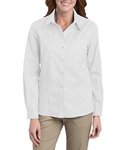 Ladies' Long-Sleeve Stretch Oxford Shirt