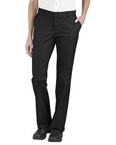 Ladies' Relaxed Fit Flat Front Twill Pant