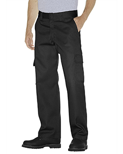 Unisex Relaxed Fit Straight Leg Cargo Work Pant