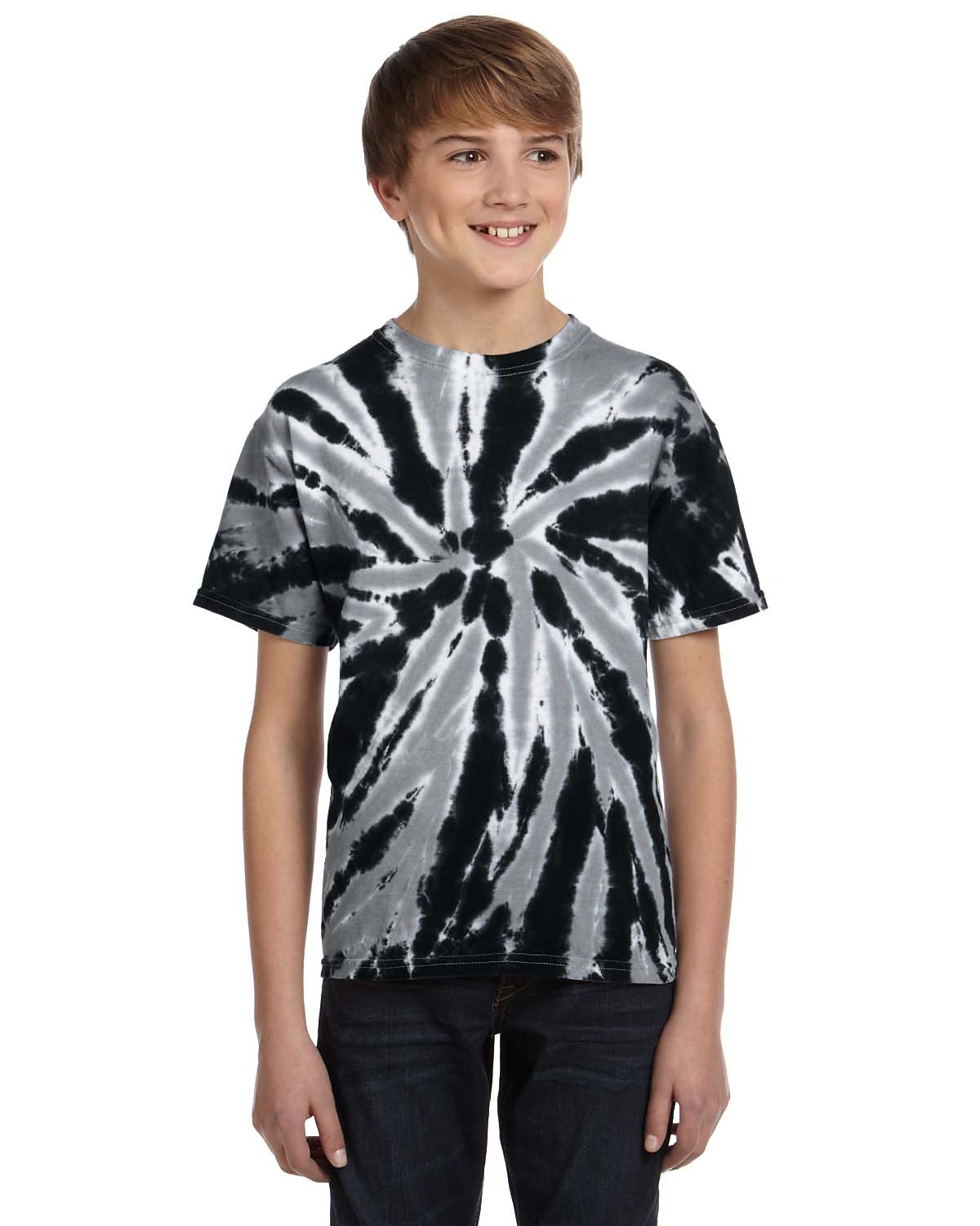 Youth 5.4 oz. 100% Cotton Twist Tie-Dyed T-Shirt