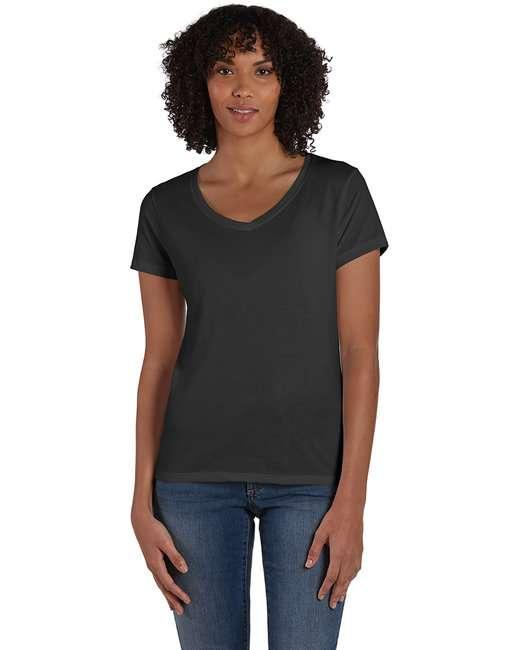 Ladies' X-Temp® Triblend V-Neck T-Shirt