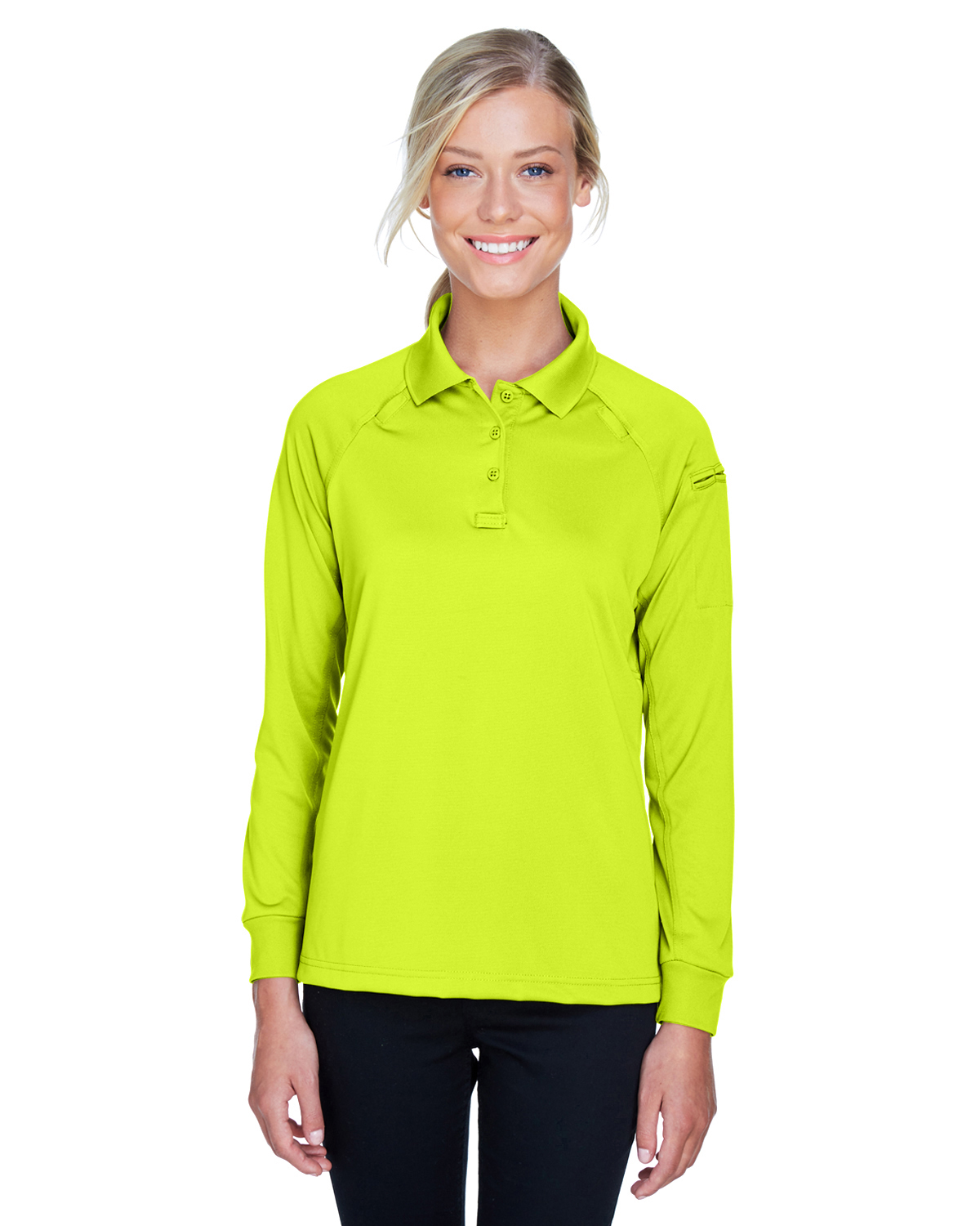 Ladies' Tactical Long-Sleeve Performance Polo