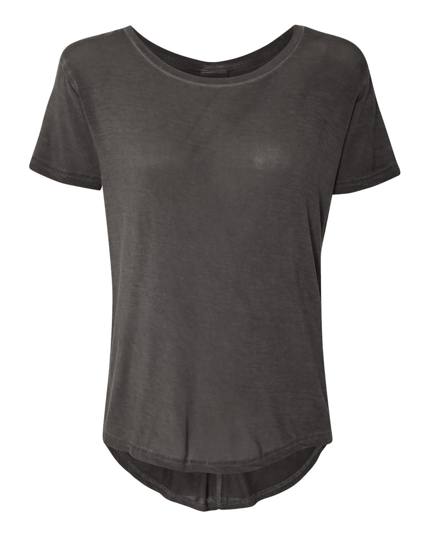 Ladies Oasis Drop Tail T-Shirt