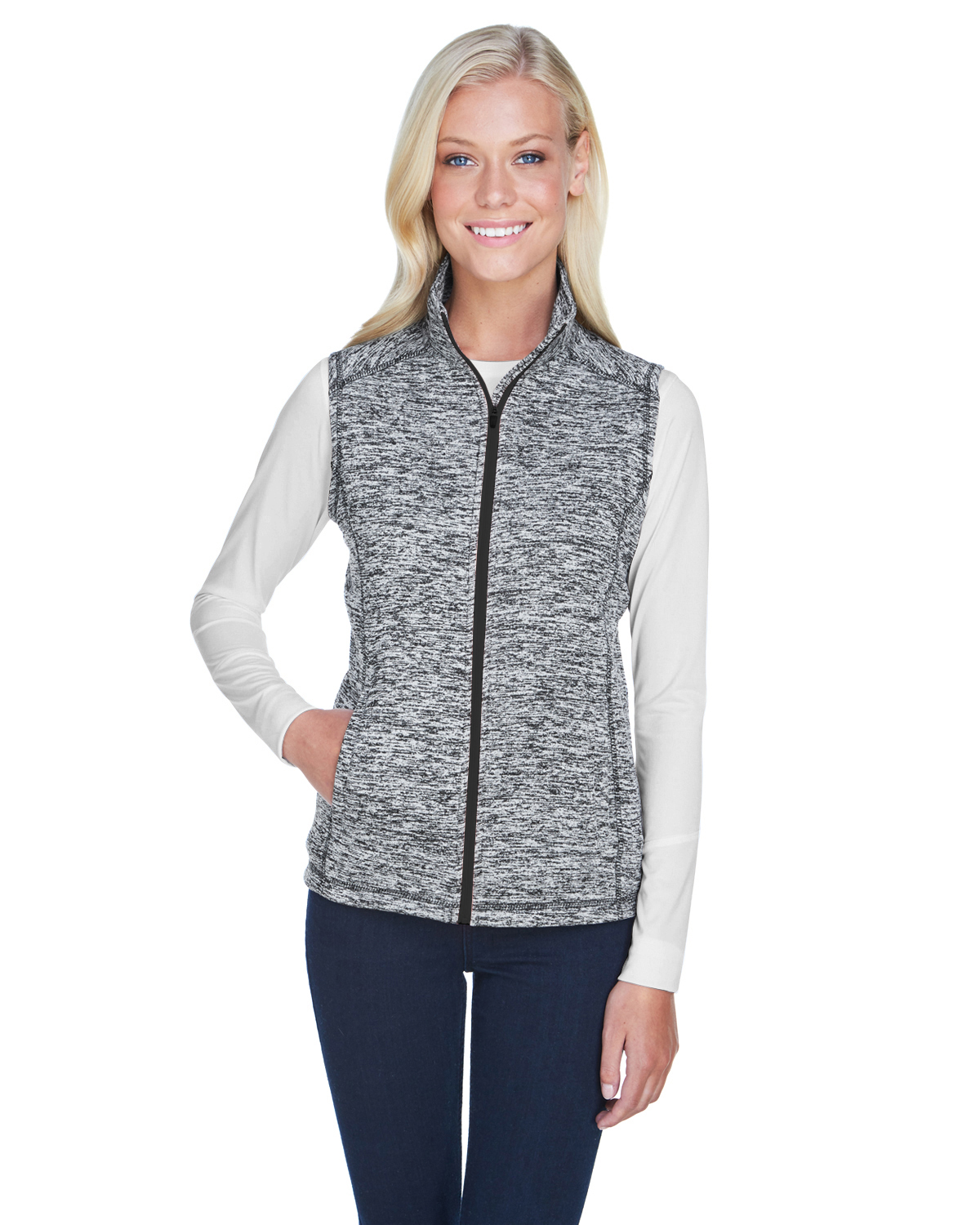 Ladies' Lasic Cosmic Fleece Vest