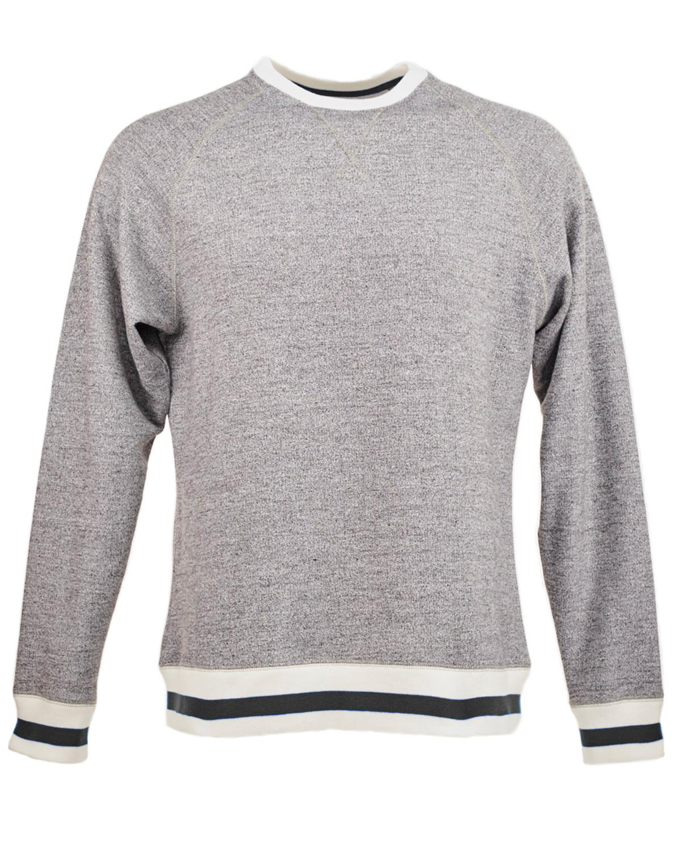 Adult Peppered Fleece Sweatshirt
