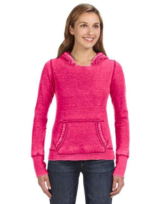 Ladies' Zen Pullover Fleece Hood