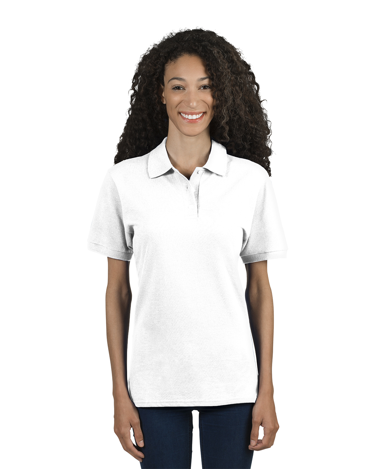 Ladies' 6.5 oz. Premium 100% Ringspun Cotton Piqué Polo