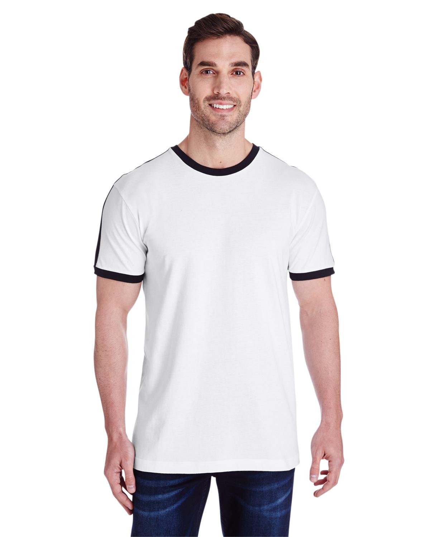 Men's Soccer Ringer Fine Jersey T-Shirt