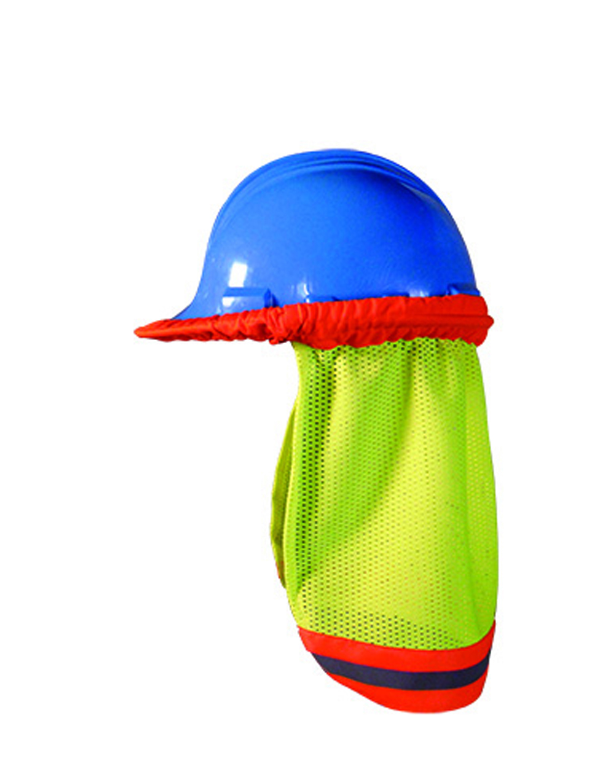 Men's High Visibility Shaded Mesh Hard Hat