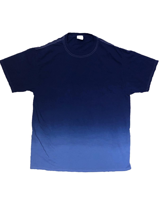 Adult 5.4 oz. 100% Cotton Ombre Dip-Dye T-Shirt