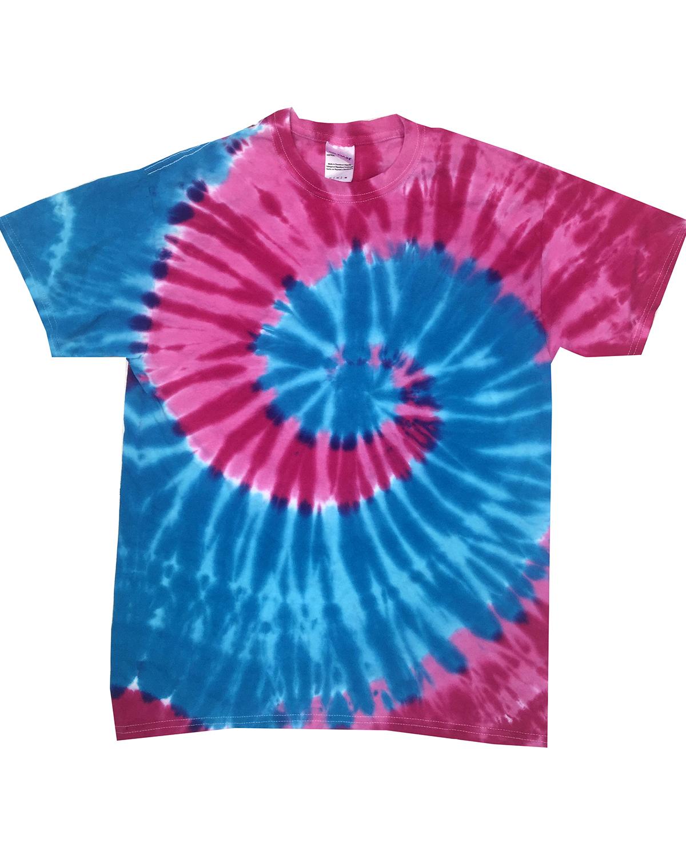 Adult 5.4 oz., 100% Cotton Islands Tie-Dyed T-Shirt