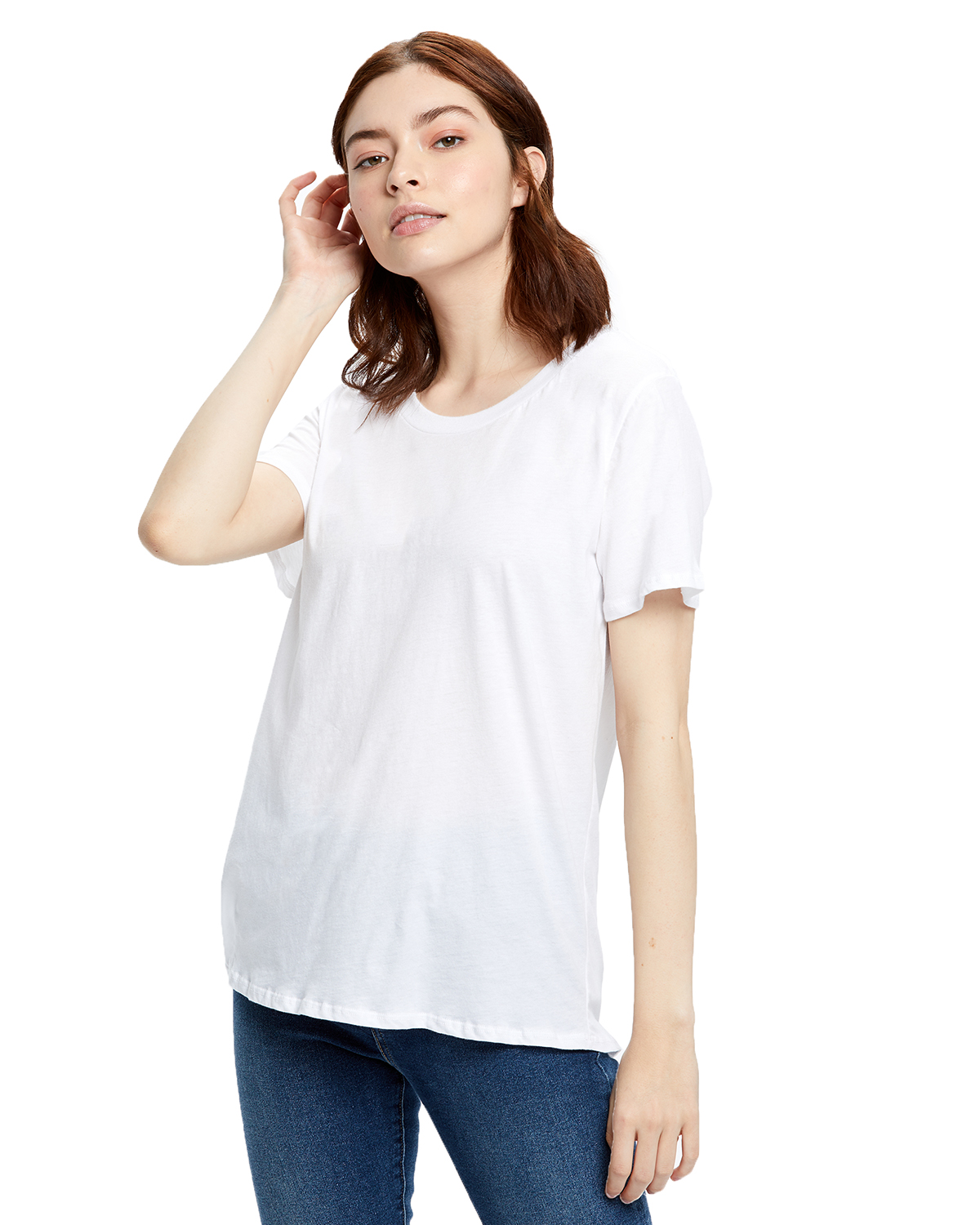 Ladies' Short-Sleeve Loose Fit Boyfriend Tee