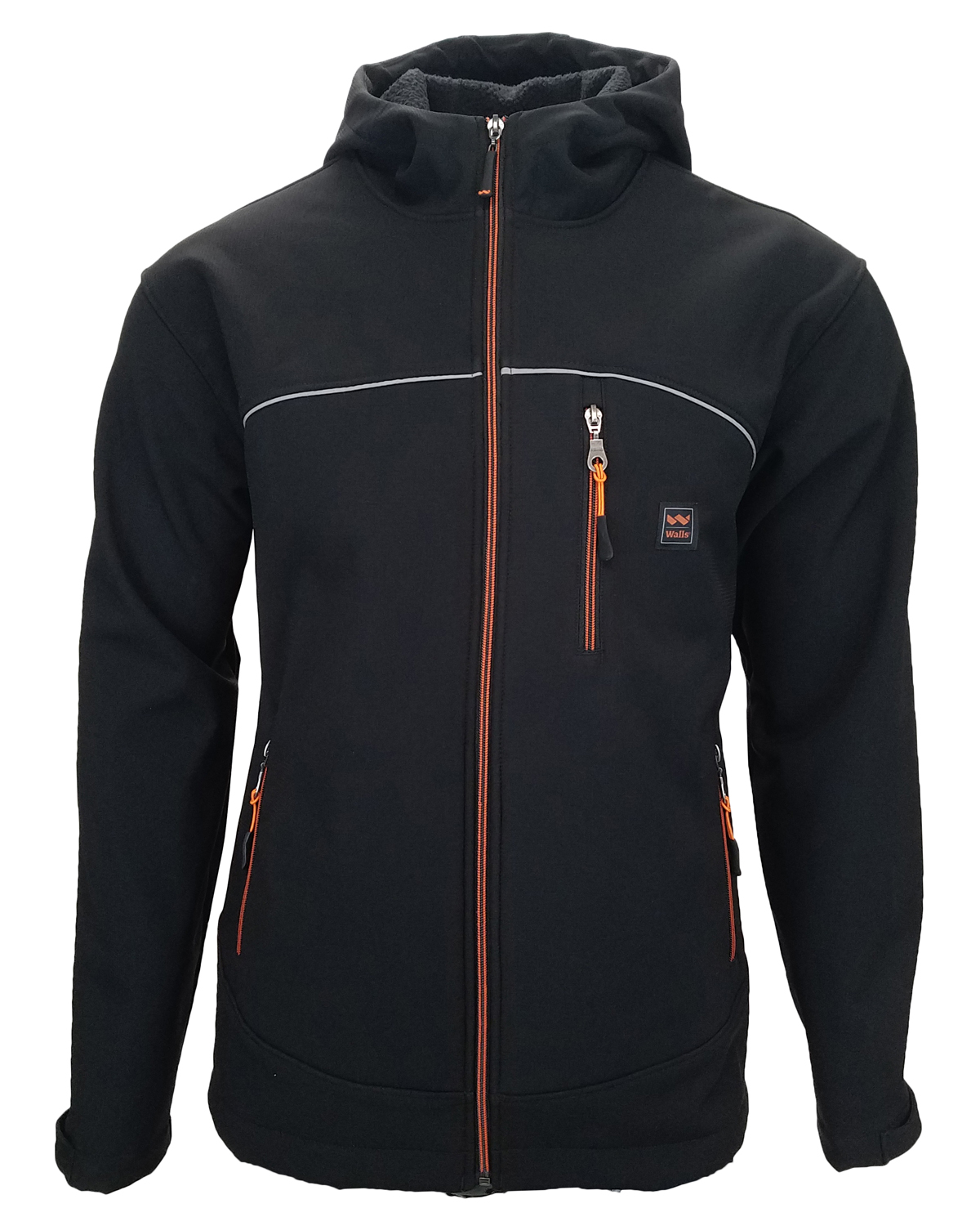 Men's Storm Protector Hooded Solid Soft Shell Jacket