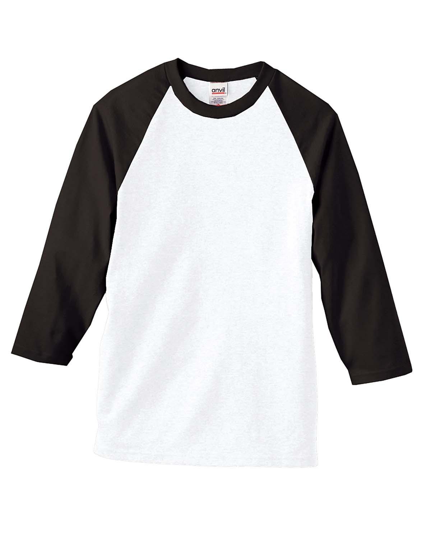 Heavyweight Raglan 3/4-Sleeve T-Shirt