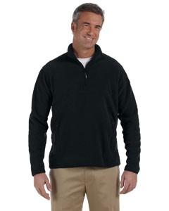 Polartec Colorblock Quarter-Zip Fleece Jacket