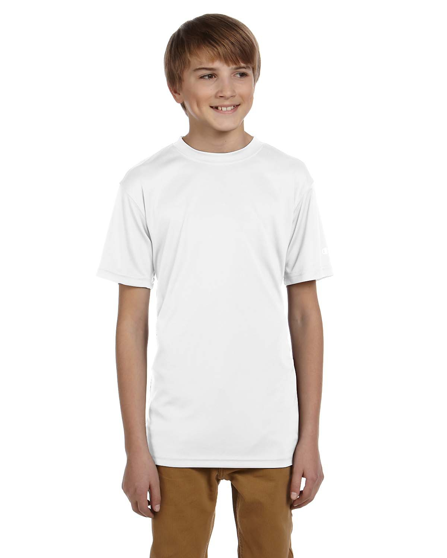 Double Dry® Youth 4.1 oz. Interlock T-Shirt