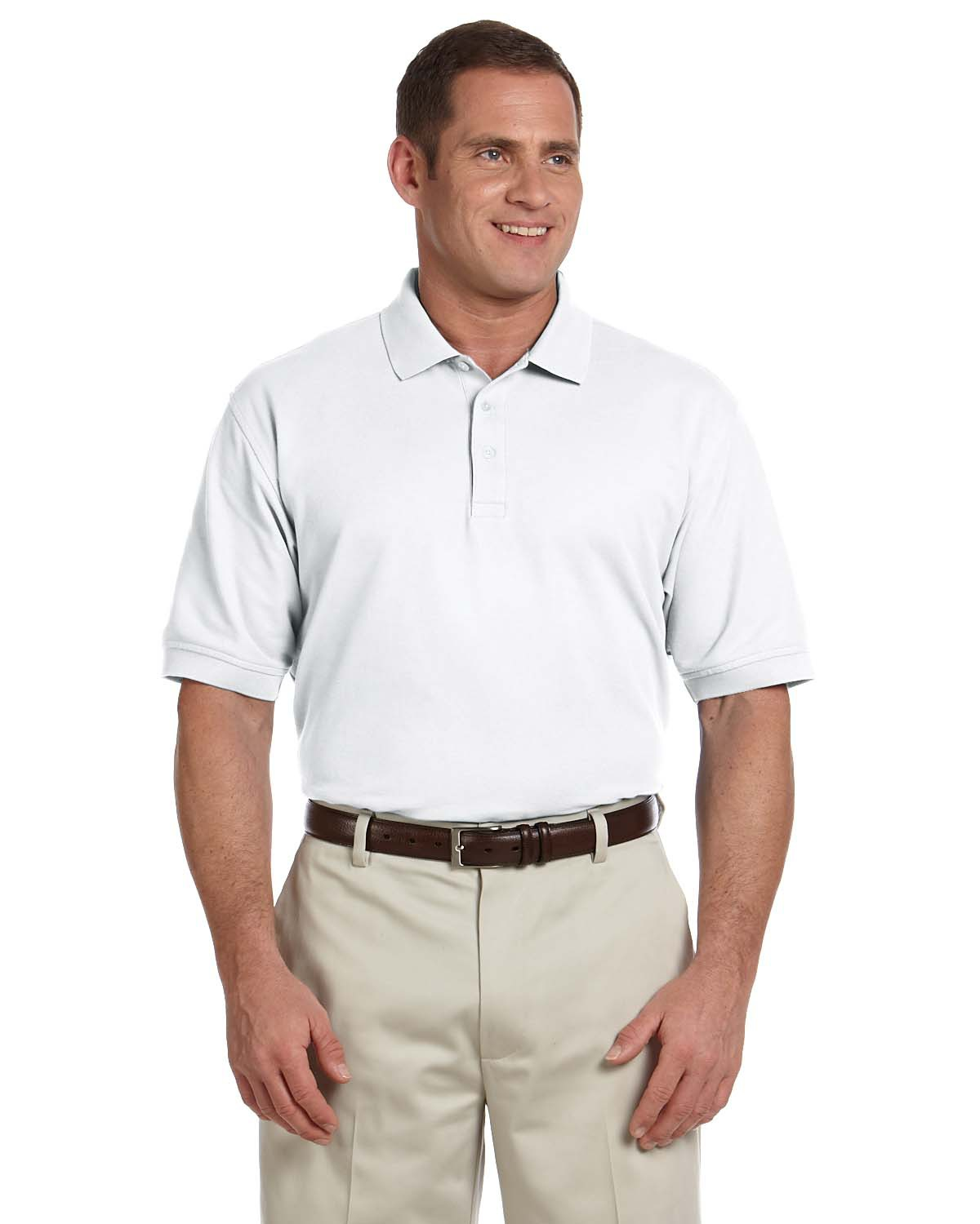 Men's Tall Pima Pique Short-Sleeve Polo