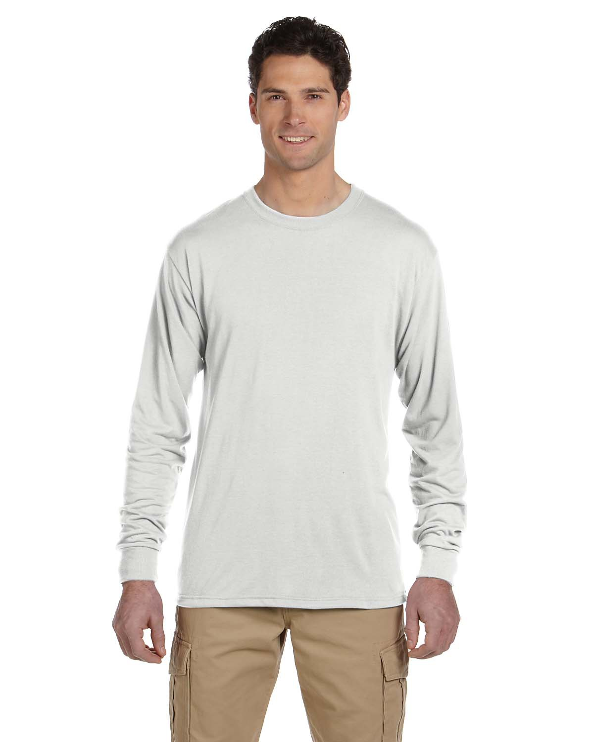 Adult 5.3 oz. DRI-POWER® SPORT Long-Sleeve T-Shirt