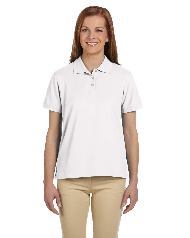 Ladies' Pima Piqué Short-Sleeve Polo