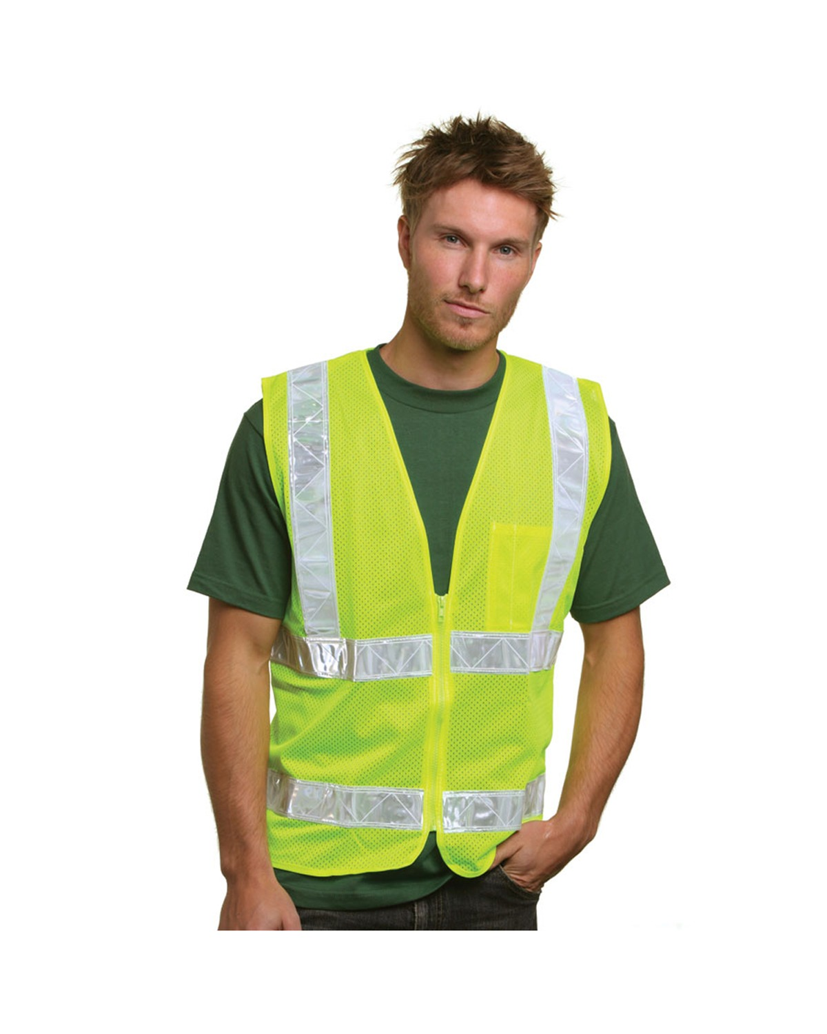 Mesh Safety Vest Lime