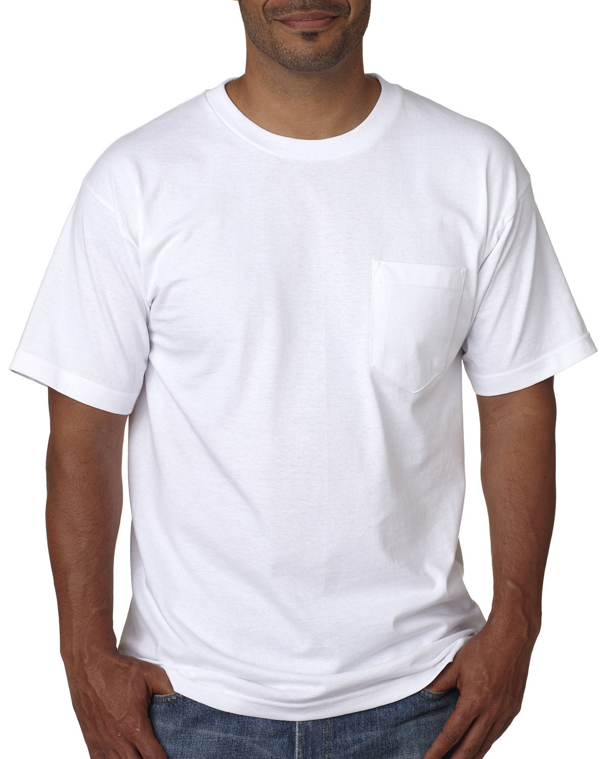 Adult Short-Sleeve Pocket Tee