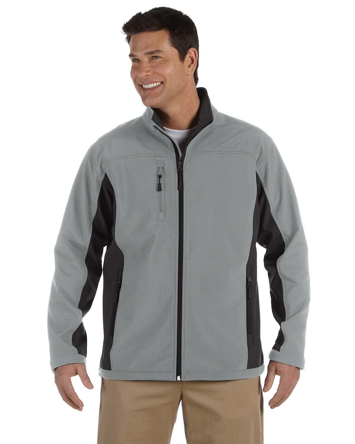 Men's Soft Shell Colorblock Jacket