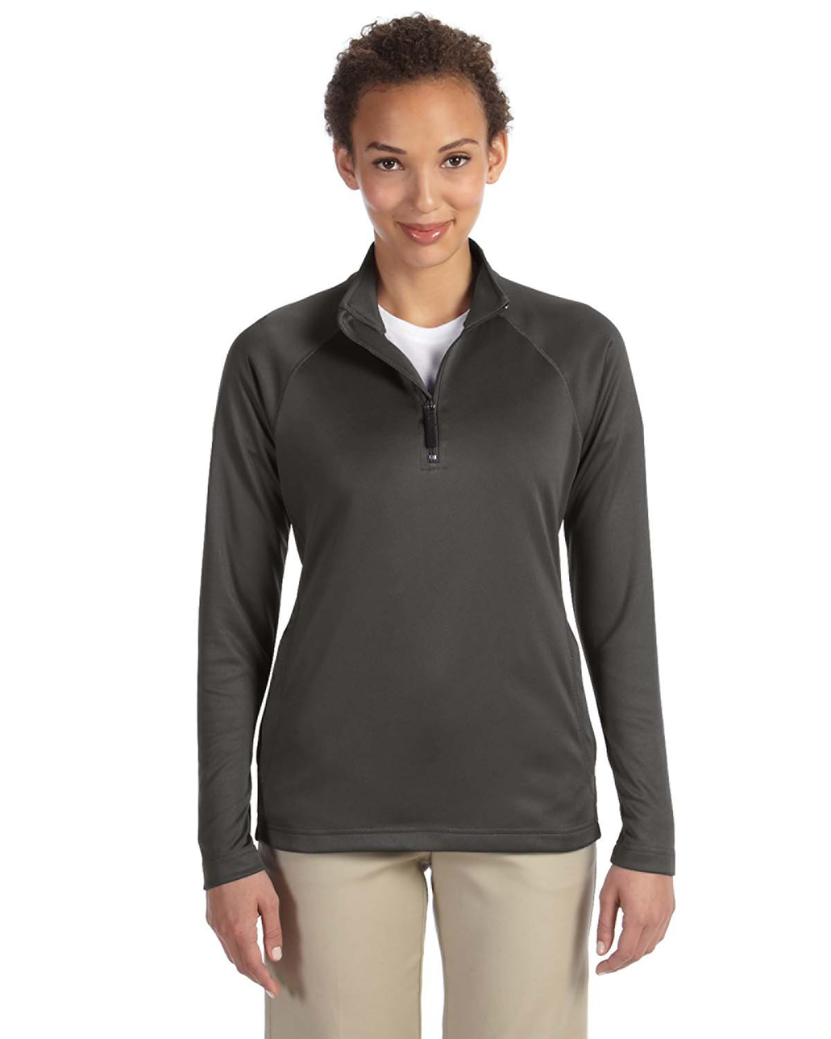 Ladies' Stretch Tech-Shell® Compass Quarter-Zip