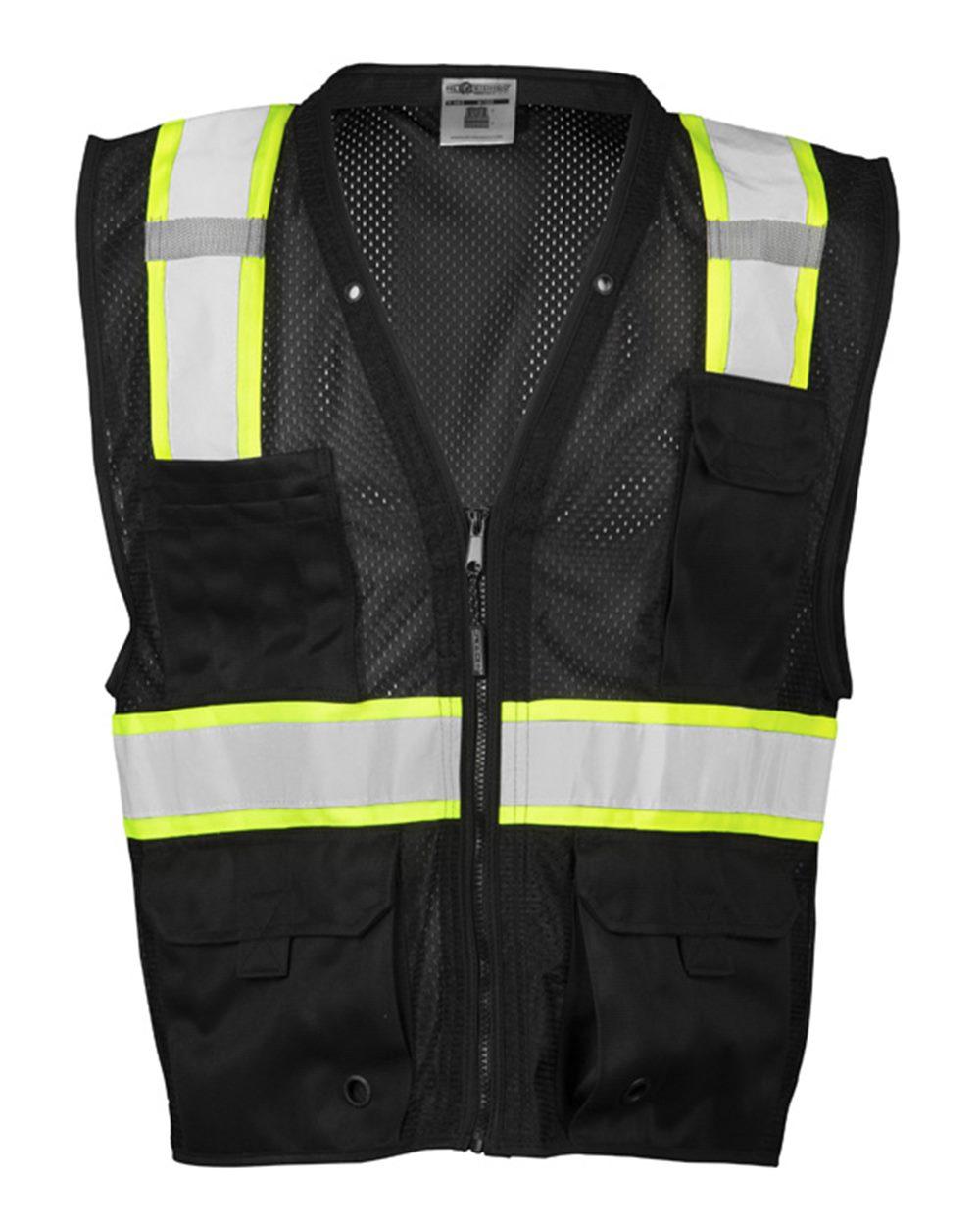 Enhanced Visibility Multi-Pocket Mesh Vest