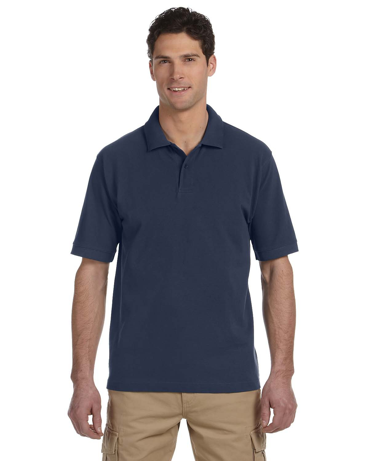 Men's 6.5 oz. 100% Organic Cotton Pique Polo
