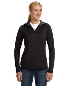 Ladies' Tech Fleece Quarter-Zip Pullover Hood
